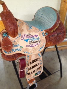 PR Target Saddle