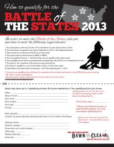BOTB BattleofStates2013 Q Form