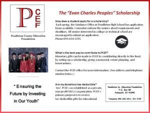 evan scholarship