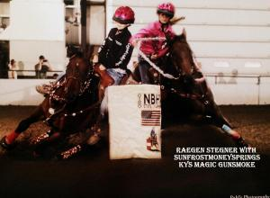Raegan Both horses